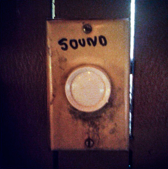 "Dial labelled ""Sound"""